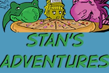 Watch the Live Comic version of Stan's Adventures on YouTube.