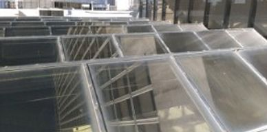 Skylight, new skylights, replacements skylights, Commercial glass, commercial glazing