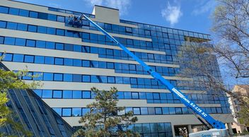 Commercial glass replacements, st louis glass, storefront glass replacement, curtain wall glass repl