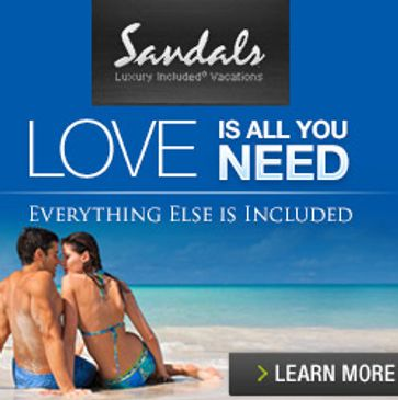 Book your Sandals all-inclusive vacation or honeymoon with Lisa Zaro, Certified Sandals Specialist.