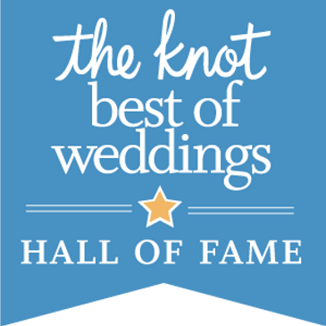 Zaro Celebrations is a member of The Knot: Best of Weddings Hall of Fame!