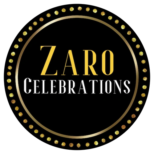 Zaro Celebrations provided personalized ceremony, photo booth & travel services.