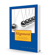 Buy Alignment, available on Amazon and for Kindle.