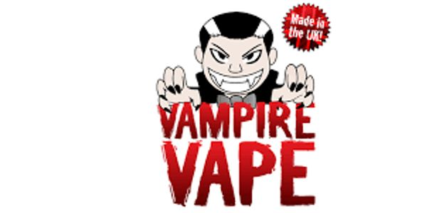 Vampire Vape 10ml nicotine juice.  E.liquid with nicotine
