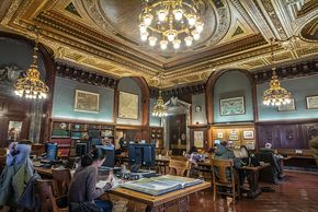 Photo of New York Public Library, Stephen A. Schwarzman Building, Reading Room