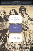 "Cover of book, ""Tales Of The Lavender Menace: A Memoir Of Liberation"""