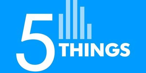 logo for 5 Things USA Today Podcast