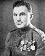Medal of Honor Recipient Benjamin Kaufman earned the award for actions during World War I.