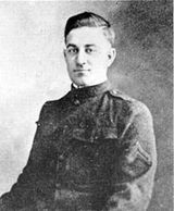Medal of Honor Recipient William Sawelson earned the award for actions during World War I.
