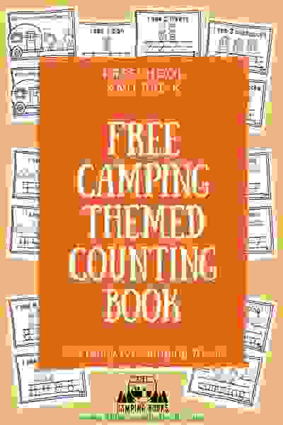 FREE Camping-Themed Printable Pack, camping printables, camping week, camping lesson plans