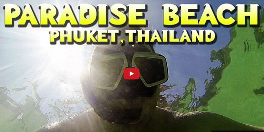 Motorbike Ride and Snorkeling at Paradise Beach, Phuket, Thailand