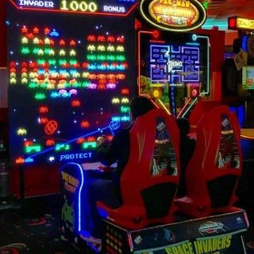 World's Largest Space Invaders Arcade Rental