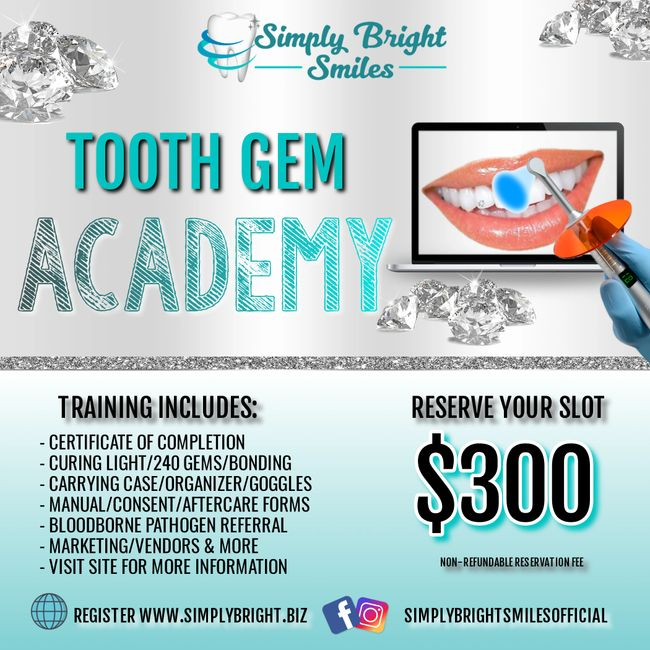 Tooth Gem Training Tooth Bling