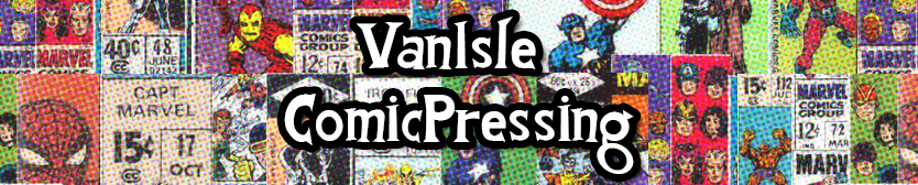 Van Isle Comic Pressing