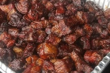 pork belly burnt ends barbecue bacon barbecue dayne's craft barbecue bbq fort worth tx texas