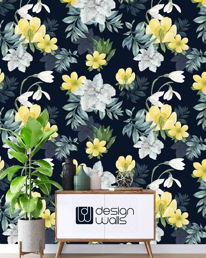 Floral customized wallpapers