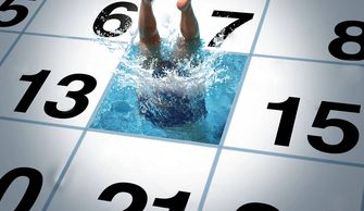 The calendar will have swim meets, special events, volunteer dates, party reservations etc.