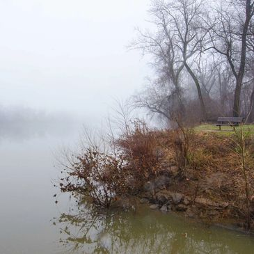 Solitude on the James. Award received at the Undiscovered Photography Show- JCC.