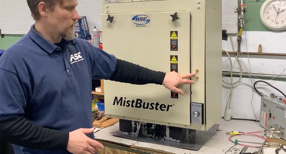 Mistbuster 850 Air Filtration System