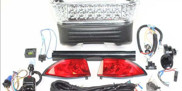 complete light kits including turn signals and horn