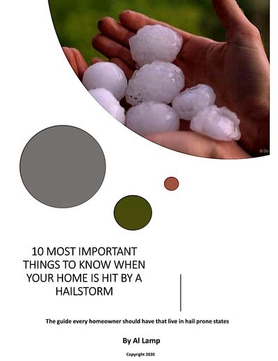 10 most important things to know when your home is hit by a hailstorm