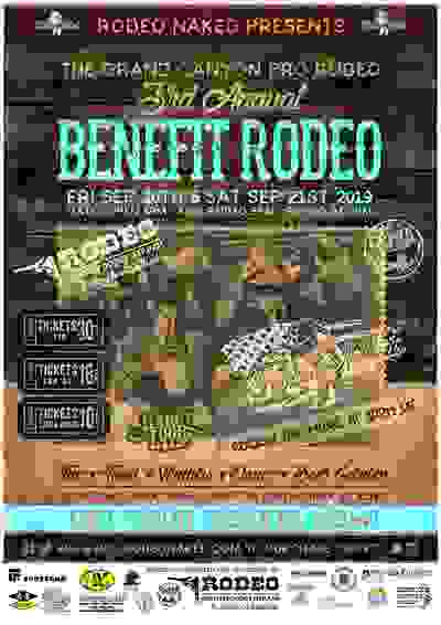 Rodeo Naked Grand Canyon Pro Rodeo Flyer Queen Creek Arizona Cowboys and Cowgirls Ticket Sales