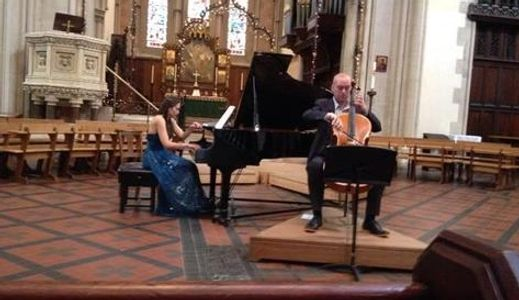 3rd of July 2016 Recital in St Mary's Cathedral, Glasgow  £1335 raised for Hospices of Hope
