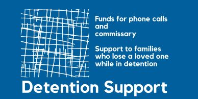 The gift of support while in detention
