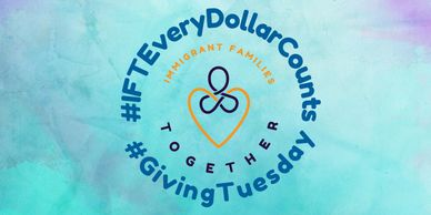 #IFTEveryDollarCounts Giving Tuesday campaign logo