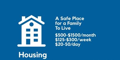 How we use your donations - for housing