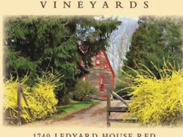 Ledyard House Red blending Estate Grown St. Croix and Marquette wines.