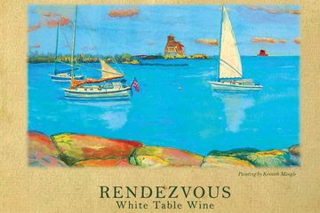 Rendezvous on the Thames River.  Or Rendezvous at Maugle Sierra a refreshing accompaniment to fine d