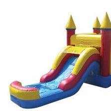 Jumper with slides, Combo units, waterslides