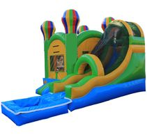 Large water slide combo rental in Lancaster CA.