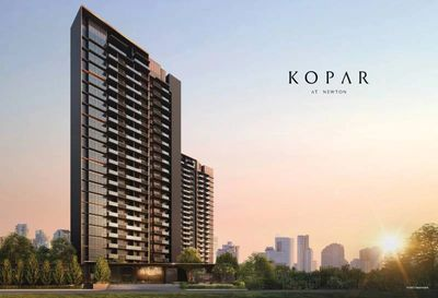 Kopar at Newton. New project in Newton. District 9. New project agent.