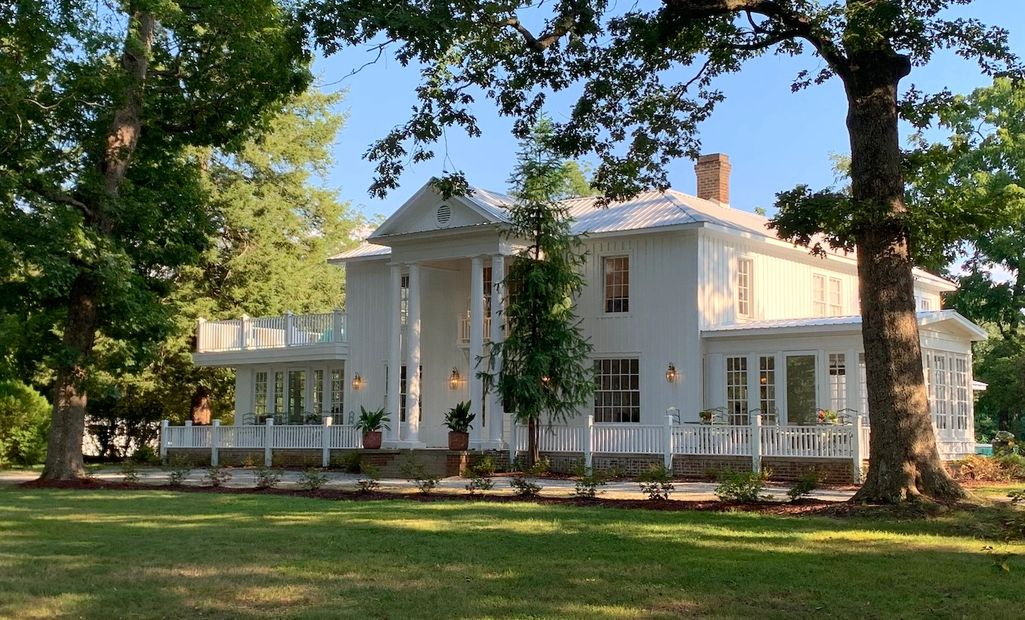 The Historic White House in Mebane North Carolina Wedding and Meeting Venue