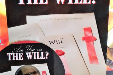 Book cover of Are You in the Will?