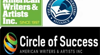 American Writers and Artists, Inc Circle of Success, the Professional Writers Alliance Logo