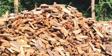 Six Diamonds Tree Services Wood Pile