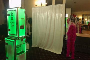 Open Air Concept Photo Booths Open Style Photo Booth Applications Clear Photo Booth