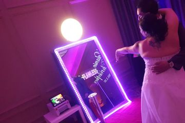 Open Air Concept Photo Booths Open Style Photo Booth Applications Selfie Mirror Photo Booth