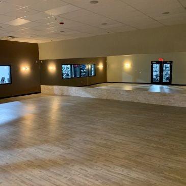 Boutique bootcamp studio for group classes, cardio, strength, weight loss