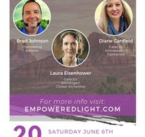 I will be a speaker at this event in Sedona and can also do in person Astrology sessions!