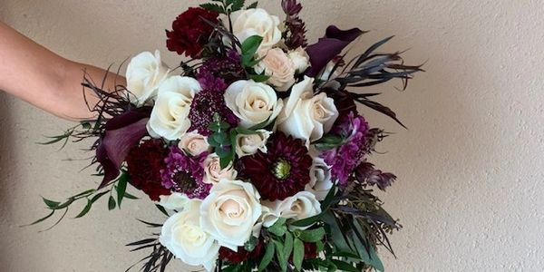 wedding flowers, fall bouquets, Tennessee flower design