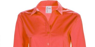 bright orange shirt at susan marie's of salado texas