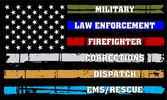 Military Law Enforcement Firefighter Corrections Dispatch EMS Rescue