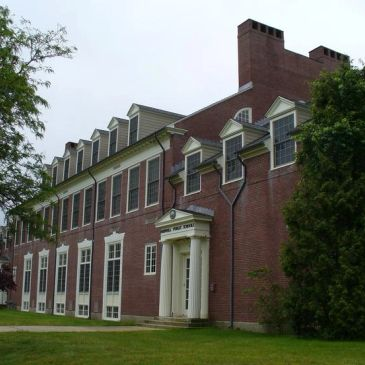 Sparrell School:  home of the Norwell Historical Society Archives