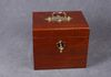 Mahogany lidded box for the storage of Antique Bell