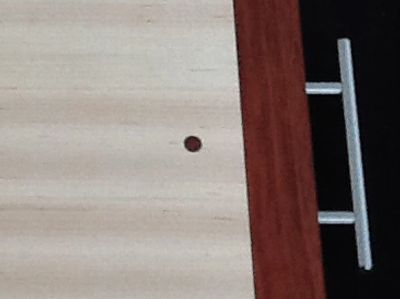 Contrasting wood DOT