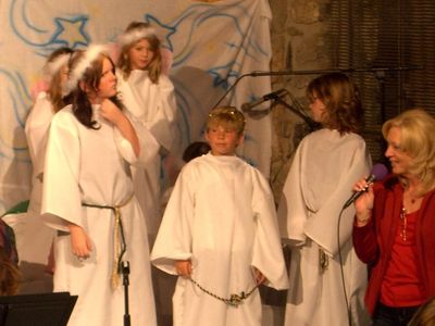 An Angel Choir from a past play